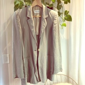 MaxMara light blazer